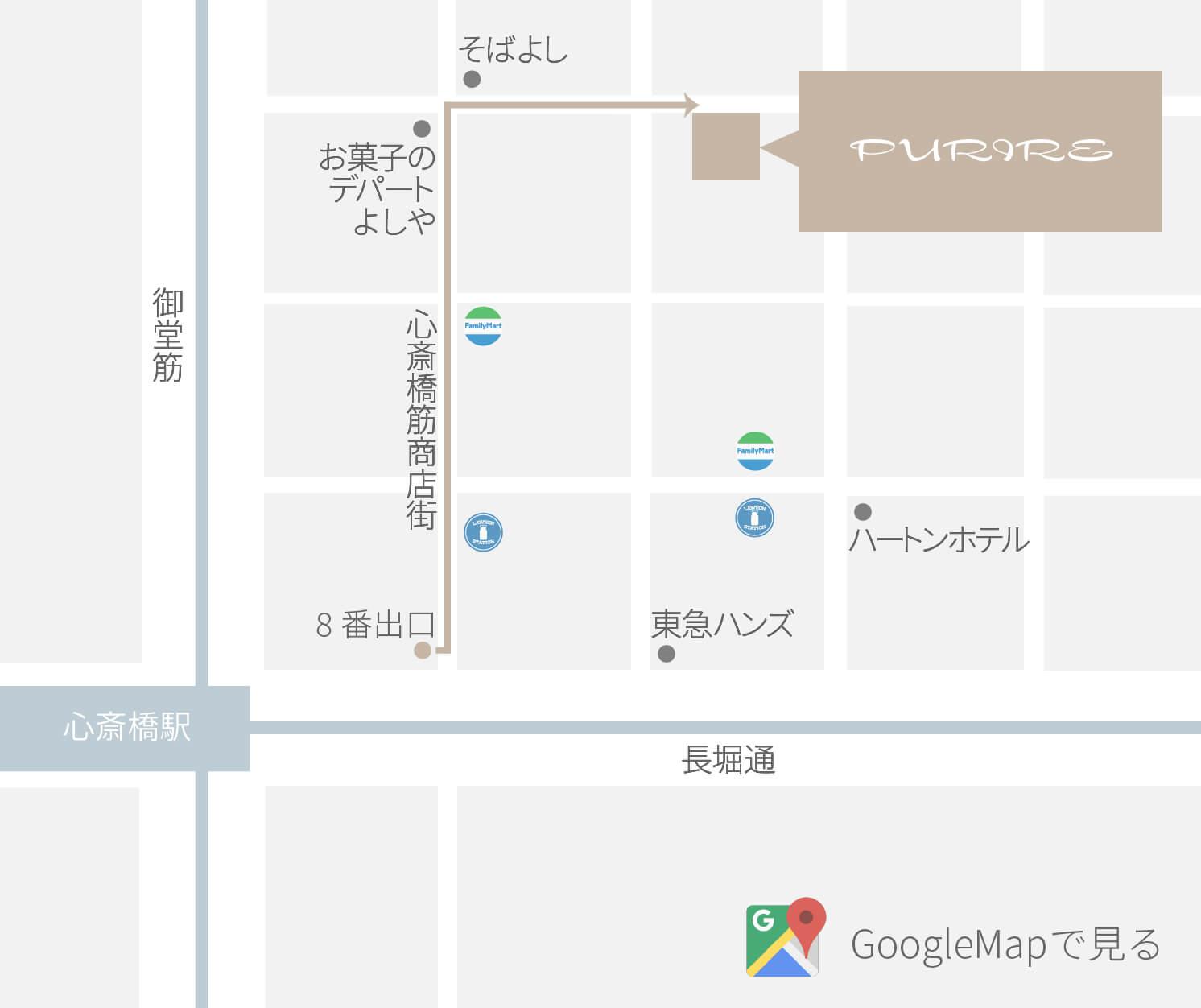 プリール マップ